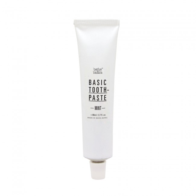 Bathe to Basics 天然無泡無氟牙膏 Basic Toothpaste Mint