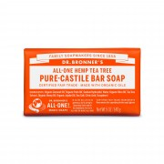 Dr. Bronner's – 有機茶樹皂 Organic Tea-Tree Bar Soap