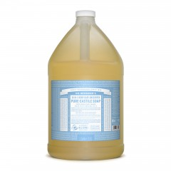 Dr. Bronner's – 有機温和BB皂液 Organic Baby Mild Liquid Soap 3.8L / 128 oz / 1 gallon