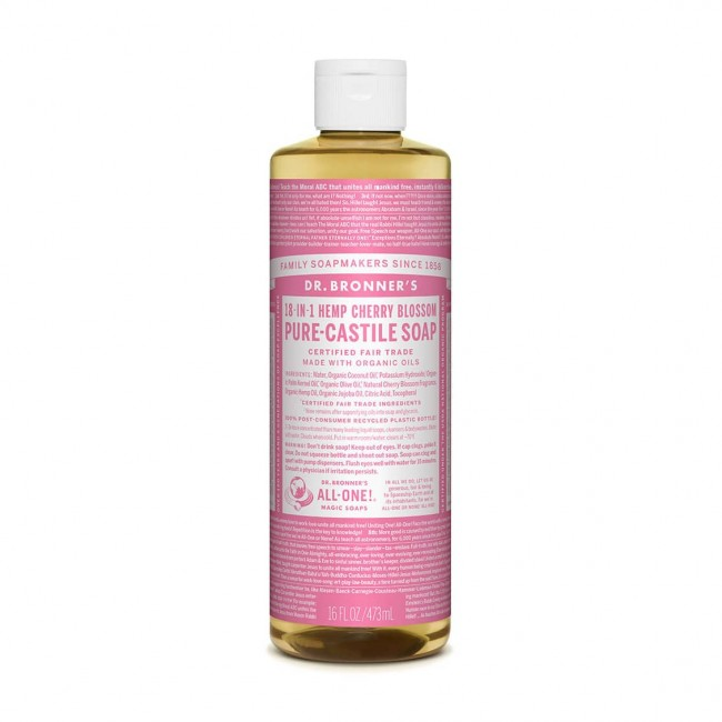 Dr. Bronner's – 有機櫻花皂液 Organic Cherry Blossom Liquid Soap
