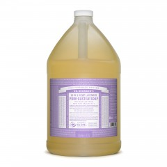 Dr. Bronner's – 有機薰衣草皂液 Organic Lavender Liquid Soap 3.8L / 128 oz / 1 gallon