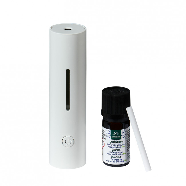 Mességué 手提USB香薰機 (連精油Freshness 5ml) USB Travel Essential Oil Diffuser