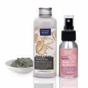 Flower2 Grass2 礦物排毒深層清潔面膜泥 Mineral Volcano Deep Cleansing & Detoxifying Mud Mask Set